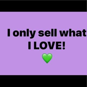 I Only Sell what i Love! 💚💜💚